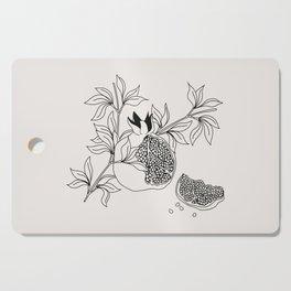 Pomegranate (BW) Cutting Board