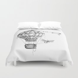 """Brix and Bailey """"Up And Away"""" Duvet Cover"""