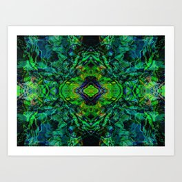 Paint Mandala No. 8 Art Print