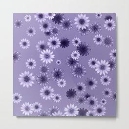 Multicolored natural flowers 10 Metal Print
