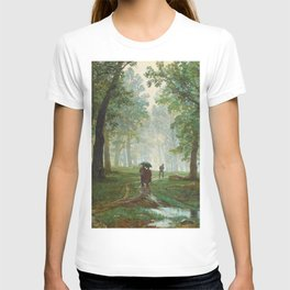 "Ivan Shishkin ""Rain in the oak forest"" T-shirt"