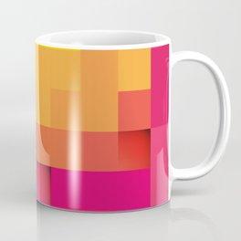 Abstract Cubes Coffee Mug