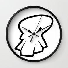 Sketch Skull Wall Clock