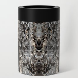 Pine Tree Bark Pattern Can Cooler