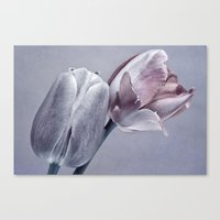 silver Canvas Prints featuring SILVER by VIAINA
