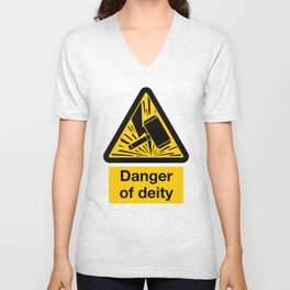 Danger of Deity Unisex V-Neck