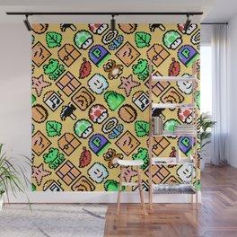 Super Mar!o Bros. 3   sand   retrogaming pattern Wall Mural