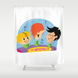 The Impossibles Shower Curtain