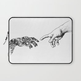 The Creation of Outer Space Laptop Sleeve