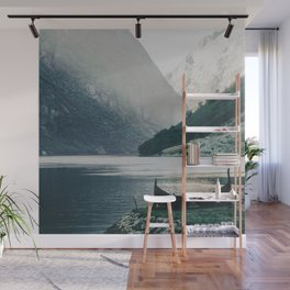 Silence - Mountain Landscape and Nature Photography by Ingrid Beddoes Wall Mural