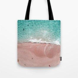Pink Vacation Tote Bag