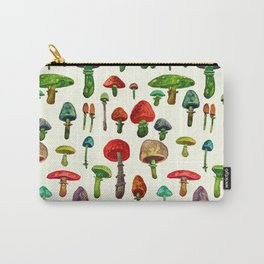 water color mushrooms Carry-All Pouch