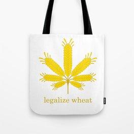 Legalize Wheat Tote Bag