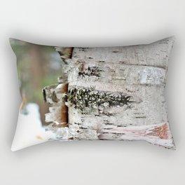 Peeling Birch Rectangular Pillow