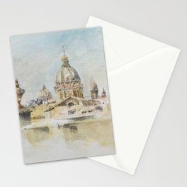 Rome Saint Charles Church Stationery Cards