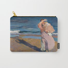 Fisherwomen with her son, Joaquín Sorolla, 1908 Carry-All Pouch
