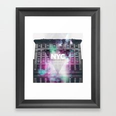 NYC - I Love New York 6 Framed Art Print