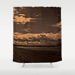 Another Place (Digital Art) Shower Curtain