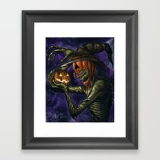 Hobnobbin' with a Goblin Framed Art Print