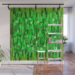 Fortified Border - Green Glow Wall Mural