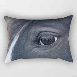 Those lashes Rectangular Pillow