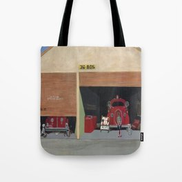 The Old Firehouse Tote Bag