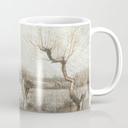 Landscape with dead trees - Vincent van Gogh Coffee Mug