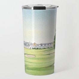 Southern Hills Golf Course 18th Hole Travel Mug