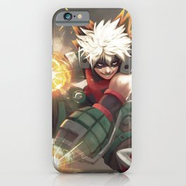 Bakugou v.3 iPhone Case