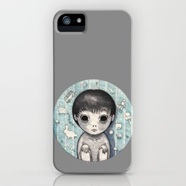 Little Ghost Boy Toshio iPhone Case