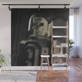 Necronaut low-polygon 3D artwork Wall Mural