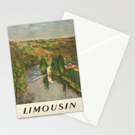 Plakat limousin societe nationale des Stationery Cards