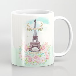 Eiffel Tower in Spring Coffee Mug
