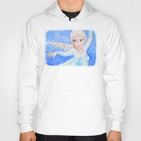 elsa Hoodies featuring Elsa by enerjax