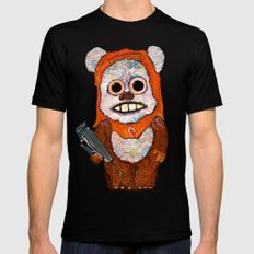 Eccentric Ewok Mens Fitted Tee Black MEDIUM