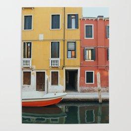 Venice Colours Poster