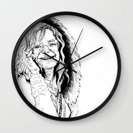 Little Girl Janis Wall Clock
