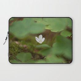 Wood Sorrel Laptop Sleeve