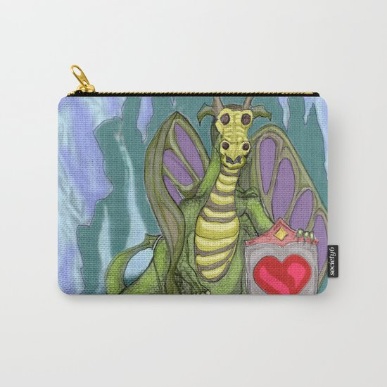 Lovelorn Dragon Carry-All Pouch