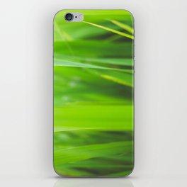 Summer is green iPhone Skin