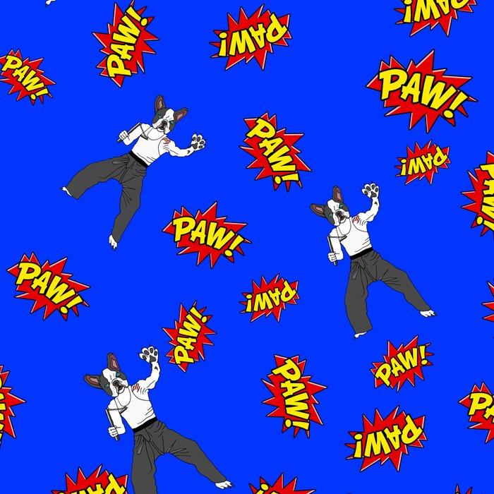 PAW POW - Kungfu Dog Leggings