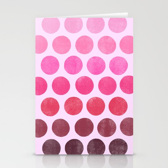 Color Play Pink Stationery Cards