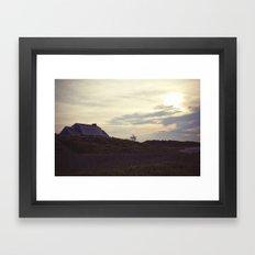 montauk2 Framed Art Print