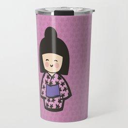 Geisha Dress Code (pink) Travel Mug