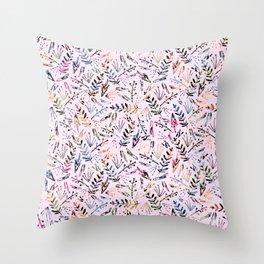 Floral Pop Pattern Throw Pillow
