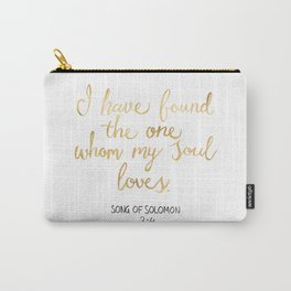 Song of Solomon 3:4 - Customer Request Carry-All Pouch