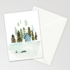 I see a whale! Stationery Cards