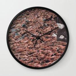 Counting Walrus Wall Clock