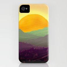 Mountain sunset iPhone (4, 4s) Slim Case