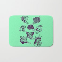 Pet Sounds Bath Mat